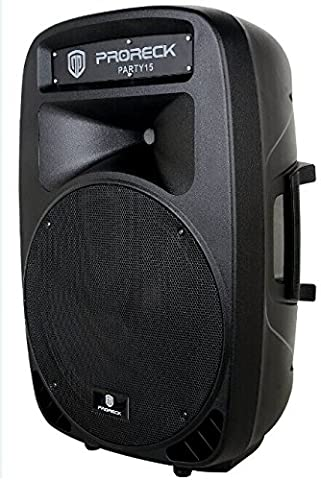 PRORECK Portable 15-Inch Woofer 2-Way Passive Speaker for PARTY 15 PA Speaker System (15 Inch Party Speakers)