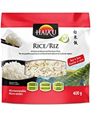 HAIKU Pre-Cooked Rice, Premium Asian Cuisine, Instant Rice, 300g