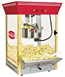 Nostalgia CCP610CKTOP Coca-Cola Kettle Popcorn Maker, 8 oz, Red