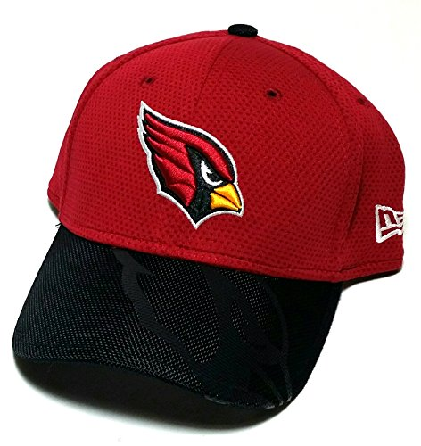 Arizona Cardinals AZ New Era Dri 39Thirty Child Youth Kids Sideline Red Fitted Hat - Cap Sideline Youth