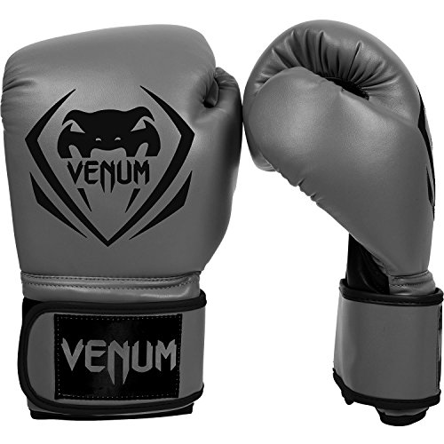 12 Ounce Boxing Gloves - Venum Contender Boxing Gloves - Grey - 12-Ounce