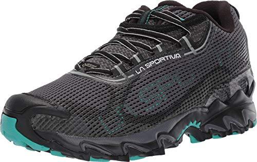 La Sportiva Wildcat 2.0 GTX Women's Running Shoe, Carbon/Aqua, 40