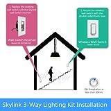 SK-8 Wireless DIY 3-Way On Off Anywhere Lighting