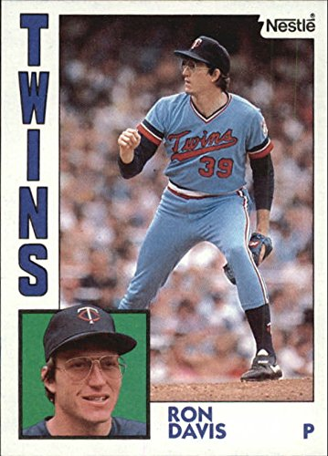 1984 Nestle 792 519 Ron Davis Baseball Card