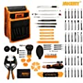 Jakemy Screwdriver Set, 89 in 1 with 54 Magnetic Precision Driver Bits, Screwdriver Kit with Pocket Tool Bag for iphone 8 / Plus , Computer, Macbook Repair