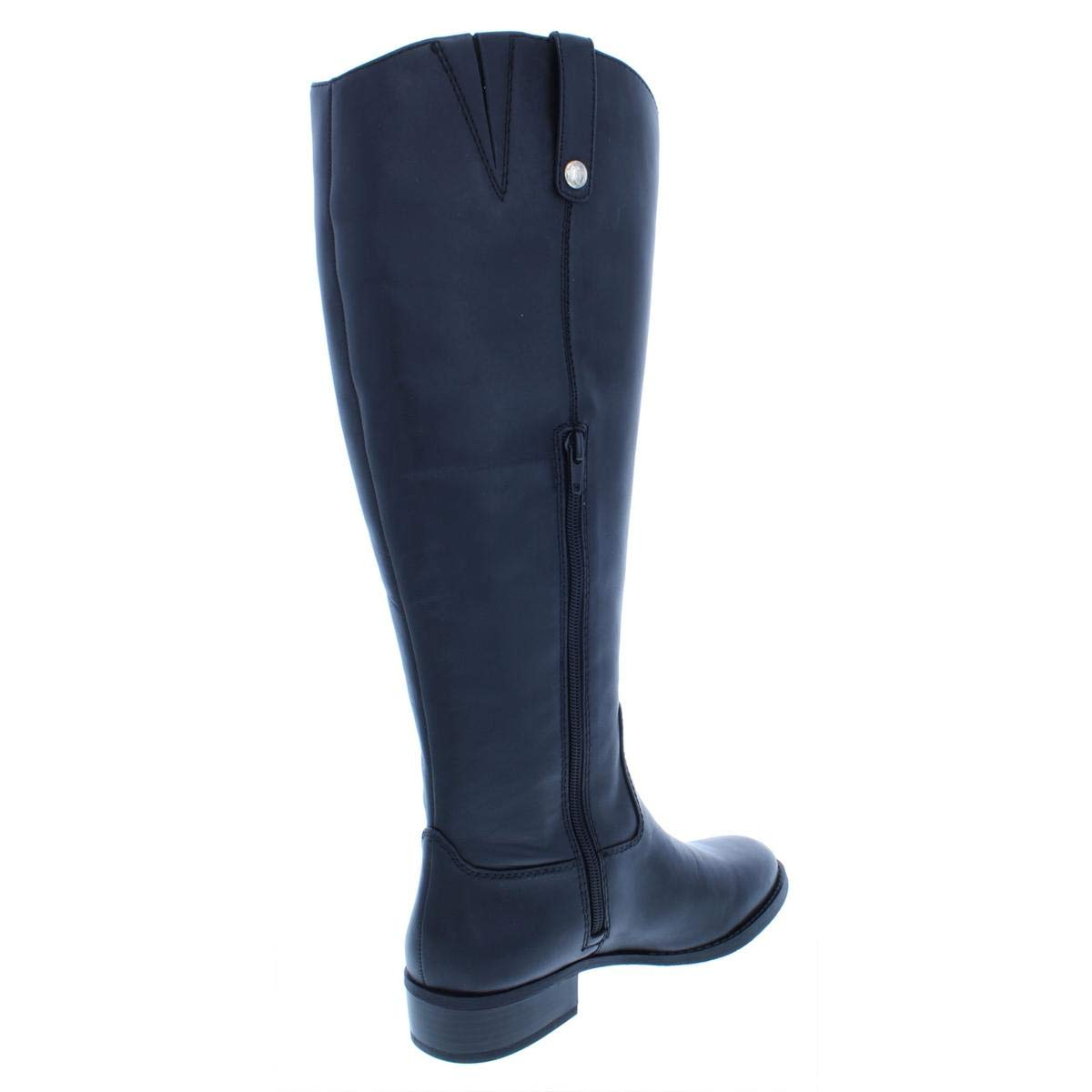 8953870fd9e Amazon.com | INC Womens Fawne Wide Calf Leather Riding Boots Black ...
