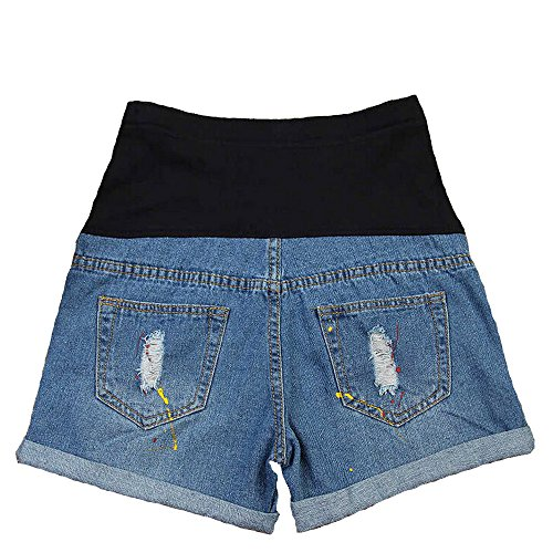 af5e75ab758fa SUNNY Thin Shorts Plus Size Summer New Jeans Pregnant Women - Import It All