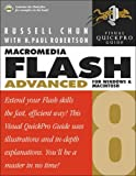 Macromedia Flash 8 Advanced for Windows and Macintosh: Visual QuickPro Guide