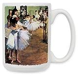 "Art Plates ""Degas Dancing Class"" Ceramic Coffee Mug, 15 oz"