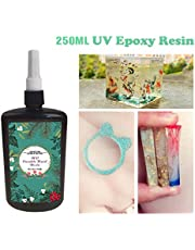 250ML Crystal Epoxy Resin UV Glue Nail Art Tools For DIY Home Professional Handcraft Jewelry Earrings Necklace Bracelet Nail Art Accessories