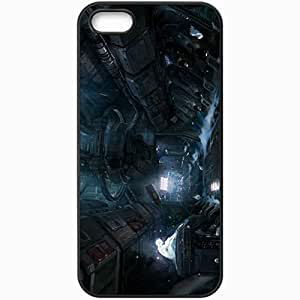 Personalized iPhone 5 5S Cell phone Case/Cover Skin Halo 4 Concept Art Black by icecream design