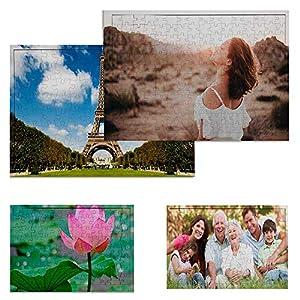 Puzzle Personalizado con tu Foto Impresión dpi Fabricado en Europa - Bonito Brilloso Tus Puzzles con tu Imagen Preferida… 18