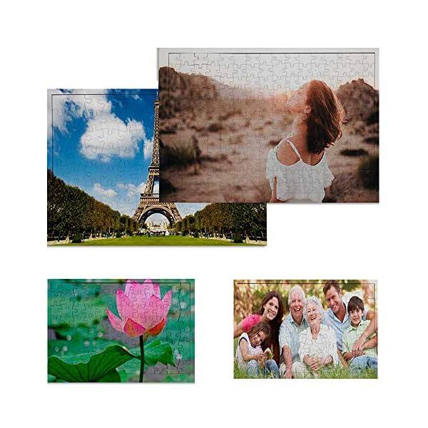 Puzzle Personalizado con tu Foto Impresión dpi Fabricado en Europa - Bonito Brilloso Tus Puzzles con tu Imagen Preferida… 2