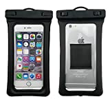 """FloatingWaterproof Phone Case TPU Dry Pouch Bag With Armband Strap For iPhone X/8/8plus/7/7plus/6s/6/6s plus Samsung Galaxy S8 S7 plus Edge S6 Note8 5 plus LG V20 Google Pixel HTC10 Up To 6.2"""""""