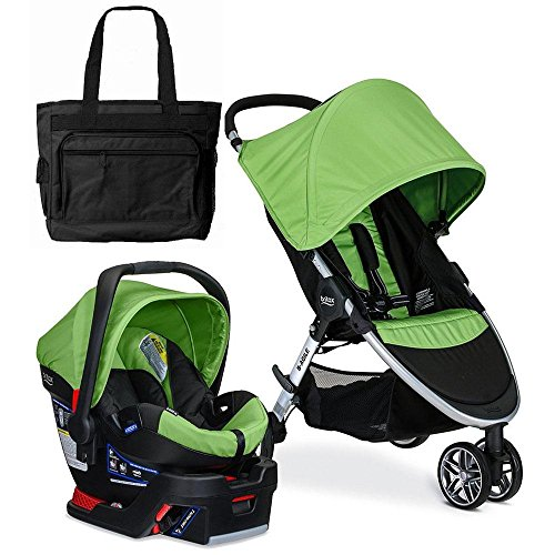 Britax 2017 B-Agile 3 / B-Safe 35 Travel System with Diap...