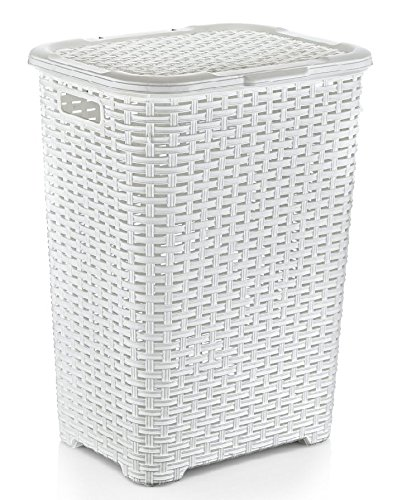 Rattan (Wicker Style) 1.7 Bushel Laundry Hamper