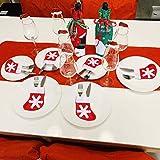 25PCS Christmas Dinnerware Set for 6 Kitchen Dinner