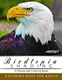 BirdTopia Shading Volume 2: Bird Grayscale coloring books for adults Relaxation Art Therapy for Busy People (Adult Coloring Books Series, grayscale fantasy coloring books)