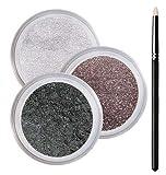 Hazel Eyes Smokey Mineral Eyeshadow Kit - 100% Pure All Natural Mineral Makeup - Not Bare Minerals, Bare Escentuals, Mineral Fusion, MAC