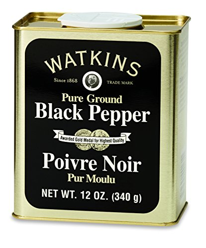 Watkins Pure Ground Black Pepper, 12 Ounce by Watkins