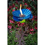 Desert Steel 36 in. Poppy Garden Torch
