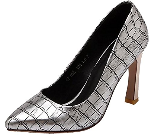 Laruise Damen Silber Tops Sneaker Low qF41nq6O