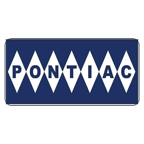 Amazon.com: Pontiac - Cartel de estilo retro con adhesivo de ...