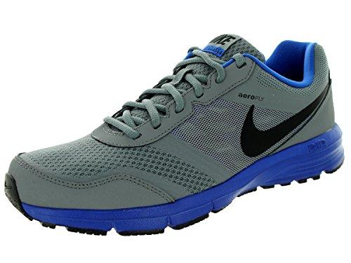 Nike Men's Air Relentless 4 Cool Grey/Game Royal/Black Running Shoe 9.5 Men US