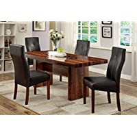 Furniture of America Kona 5-Piece Contemporary Dining Set