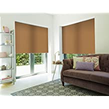 Roller Shade Blind For Window By PeakHut: Stylish Vertical Curtain In 3 Designs – Bamboo Zebra Roller Shade, Blackout Roller Shade And MatSun Roller Shade (34x72 Inch, Mastun-04)