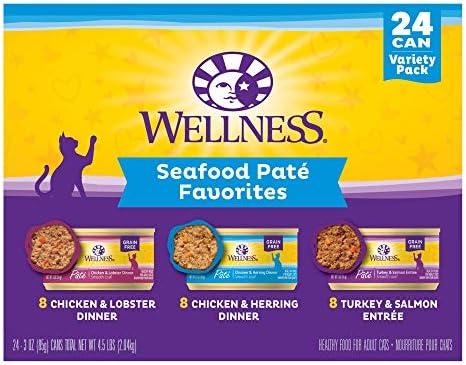 Wellness Chicken Turkey Pate Favorites