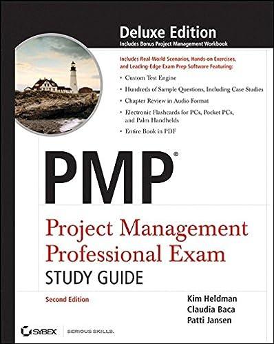 amazon com pmp project management professional exam study guide rh amazon com kim heldman pmp study guide 5th edition pdf kim heldman pmp study guide 8th edition pdf