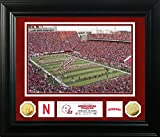 NCAA Nebraska Cornhuskers Special Edition Gold Coin Photo Mint, 32'' x 27'' x 4'', Gold