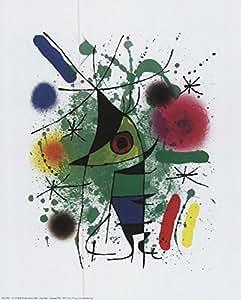 Singing Fish Art Print Art Poster Print by Joan Miró, 10x12