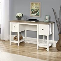 Bowery Hill Home Office Desk in Soft White