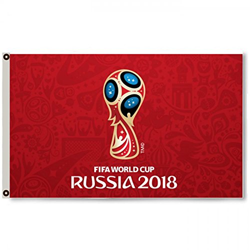 (2But Russia FIFA World Cup 2018 Red Flag Banner 3x5Feet)