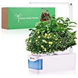 Fresh organic plants aren't just delicious, they can really liven up an indoor space, especially in darker months. Vegetables & flowers bring a certain purity to an otherwise stale indoor air.  Hoctor Indoor Herb Garden uses automatic full spectrum ...