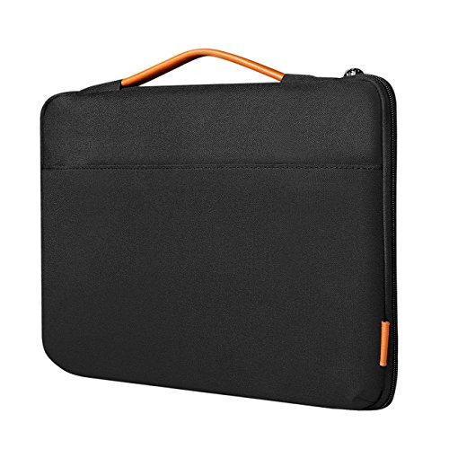 Inateck Shockproof Laptop Sleeve Case Briefcase Spill Resistant for 13-13.3 Inch Laptops, Notebooks, Ultrabooks, Netbooks, with Extra Storage Space