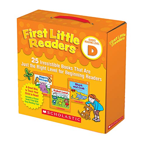Scholastic SC-811150 First Little Readers Parent Book Pack, Level D (Pack of 27) -