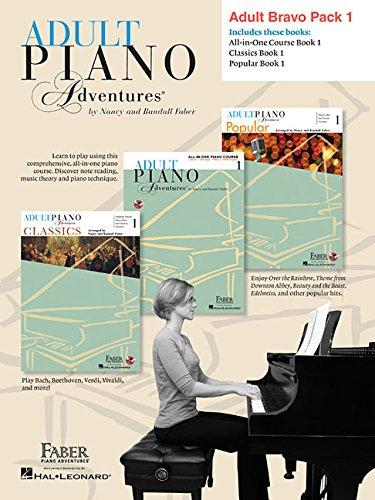 Download Adult Piano Adventures Level 1 Bravo Pack: 3-Book Pack pdf epub