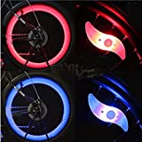 Bridge2Shopping Bicycle Wheel Spoke LED Light With 3 Modes (Multicolor)