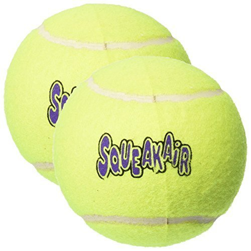 KONG Air Dog Squeaker Ball for Dogs, X-Large - 2 - Balls Squeaker Kong Tennis