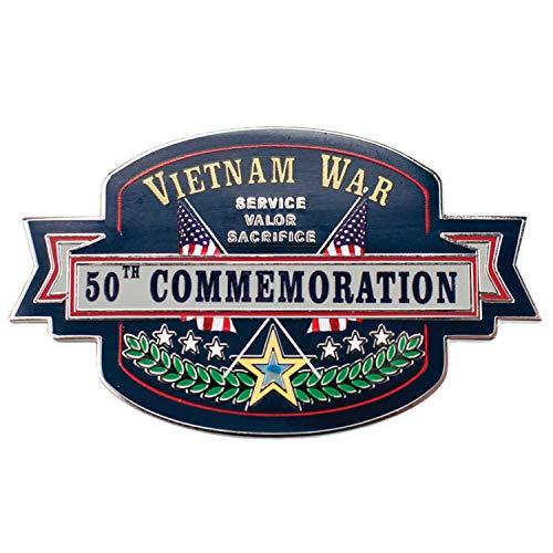 - VetFriends.com Vietnam War 50th Commemoration Lapel Pin