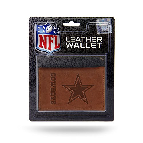 Dallas Cowboys Official NFL Leather Trifold - Dallas Cowboys Trifold Wallet