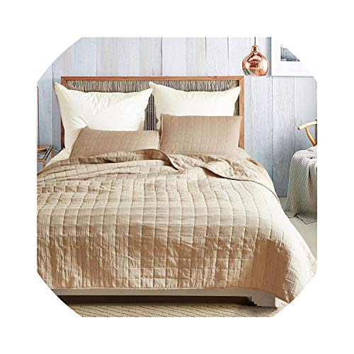 (Bedspread Bedspread Quilted Bed Spread Lattice Bed Cover Double Lightweight Coverlet Set Gray Quilt Blanket US Queen King,04,US King)