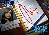Bates Motel Season 2 Autograph Card AOC1 Olivia Cooke as Emma Decody