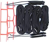 Home Court 2-inch Adjustable 30-ft Sand Court Line - 19AS (Black)