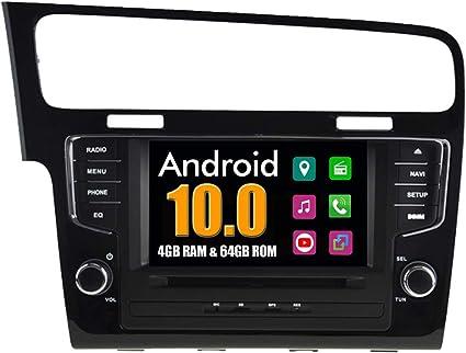Roverone Android System 8 Zoll Doppel Din In Dash Car Gps Navi Navigation Für Vw Für Volkswagen Golf 7 Mk7 Mit Autoradio Stereo Dvd Bluetooth Sd Usb Touch Bildschirm Navigation