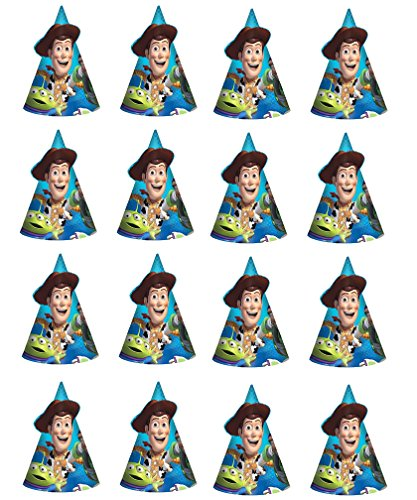 Pixar Toy Story Happy Birthday paper Party Hat 16(ct) Party Supply -