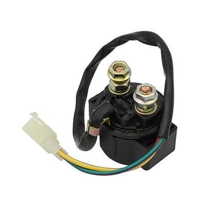 Cyleto Rel/é de arranque para moto interruptor magn/ético para TRX250 TRX 250 TRX-250 Fourtrax 1985-1987 ATV y Off Road